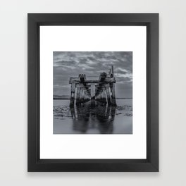 Old Wooden Bridge 2 Framed Art Print