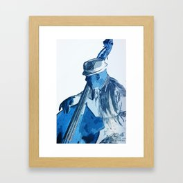 Bassist Framed Art Print