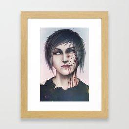 Blood Shake Framed Art Print
