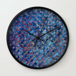 Pieces Form the Whole Wall Clock