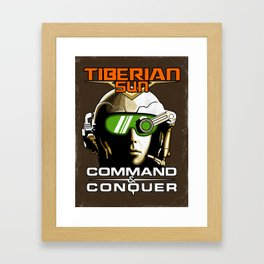 Tiberian Sun Commander Framed Art Print