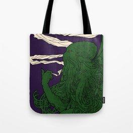 Chtulu - Doom Lord Tote Bag