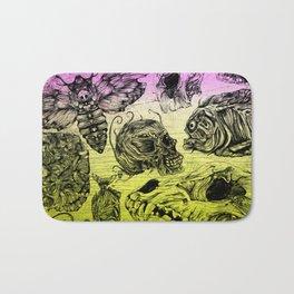Bones and color Bath Mat