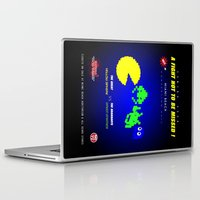 fight Laptop & iPad Skins featuring Fight ! by mauro mondin