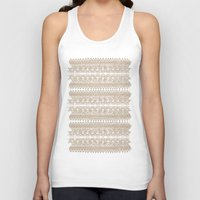 lace Tank Tops featuring lace by Ioana Luscov