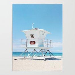 Lifeguard tower Carlsbad 35 Poster