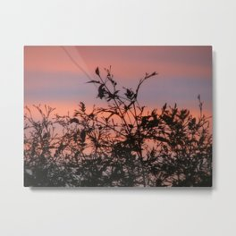 God was busy Metal Print
