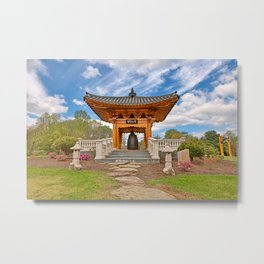 Korean Bell Garden Metal Print