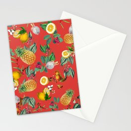 Exotic Fruit Pattern 03 Stationery Cards