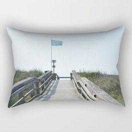 beach access Rectangular Pillow