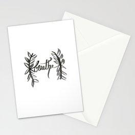 Breathe Stationery Cards