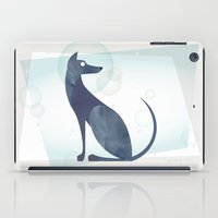 mid century modern iPad Cases featuring Mid-Century Canine by a. peterson