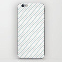 Blue Stripe iPhone Skin