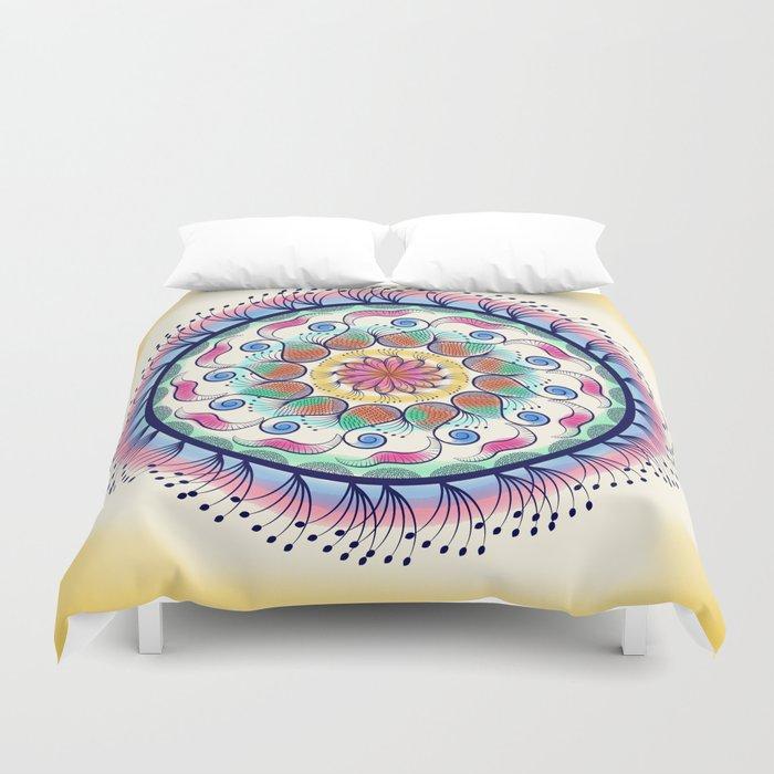 Mandala Duvet Cover