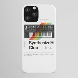 Synthesizers Club iPhone Case