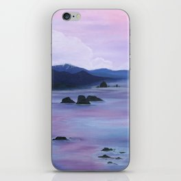 Sunset at Cannon Beach iPhone Skin