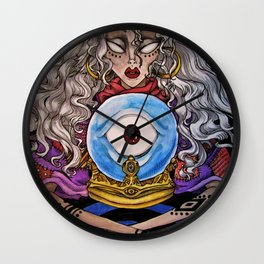Divination Wall Clock