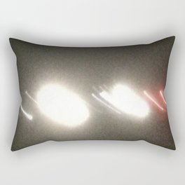 Abstracte Light Art in the Dark Version 34 Rectangular Pillow