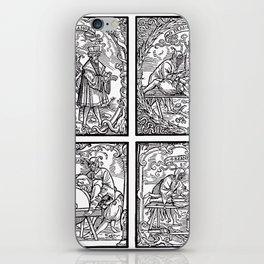Depositing the Horns - Initiation Ritual iPhone Skin