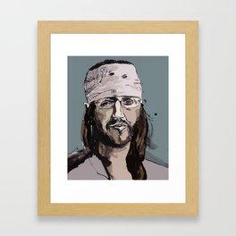 DFW (color) Framed Art Print