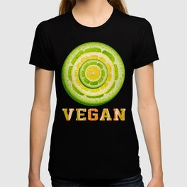 Lime and Lemon Slices VEGAN typography T-shirt