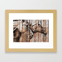 Run With the Horses Framed Art Print