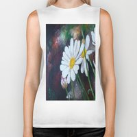daisies Biker Tanks featuring Daisies  by ANoelleJay