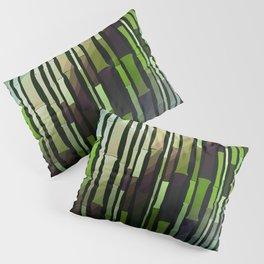 Modern Rustic Bamboo Garden  Pillow Sham