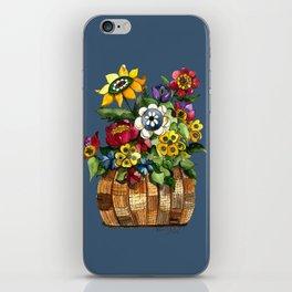 Happy Flowers iPhone Skin