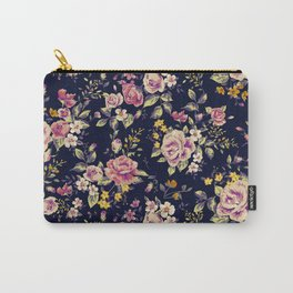 Rose pattern 3 Carry-All Pouch