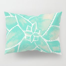 Aloe Vera – Mint Palette Pillow Sham