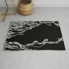 Dripping Swirls Rug