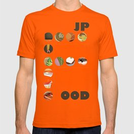 Japanese Food Bubble Zoom T-shirt