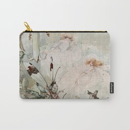 """Exotics at Play"" by Duncan Carse Carry-All Pouch"