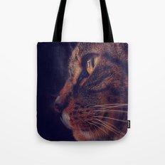Profile of a Cat Tote Bag