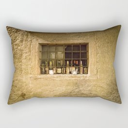 Old Bottles of Italy Rectangular Pillow
