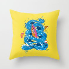 wipeout Throw Pillow