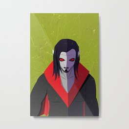 Spider-Man Series: Morbius Metal Print