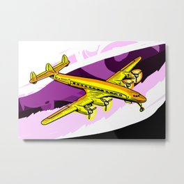 Vintage Plane Metal Print