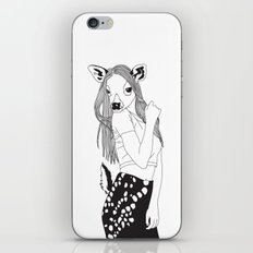 Miss Deer iPhone & iPod Skin