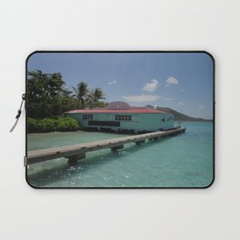 Pusser's Marina Cay, British Virgin Islands Laptop Sleeve