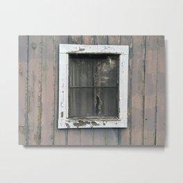 Vintage Window Metal Print