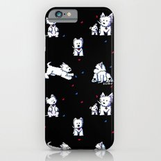 KiniArt Westie Block Party iPhone 6s Slim Case