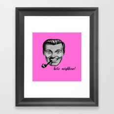 sub genius Framed Art Print
