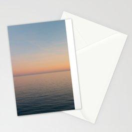 Nerja, Spain sunset Stationery Cards
