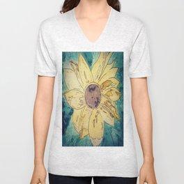 Sunflower madness Unisex V-Neck