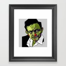 J.Cash Framed Art Print