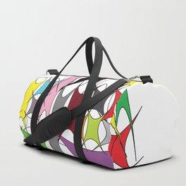 Abstract.Yoga Duffle Bag