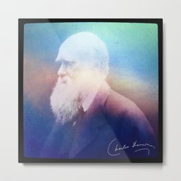 Heart Of Stone. Darwin. 1809-1882. Metal Print