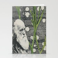 darwin Stationery Cards featuring Darwin-ing by Eleanor Boersma